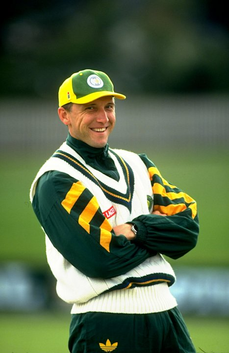 Allan Donald of South Africa