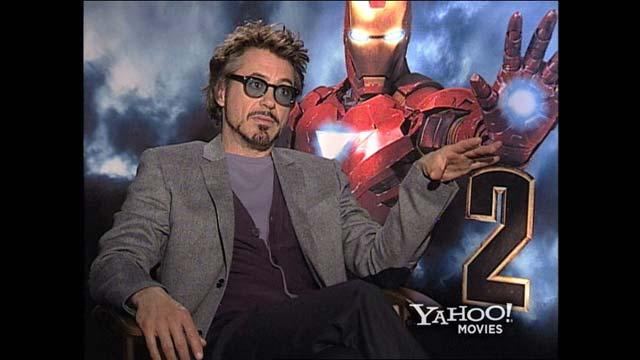 'Iron Man 2' Insider Access: Downey vs. Stark