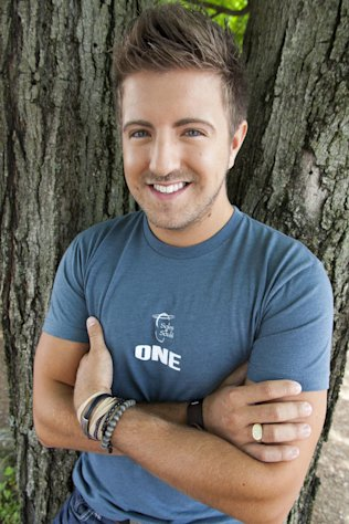 A March 30, 2012 photo shows singer Billy Gilman in Nashville, Tenn. Gilman, 23, co-wrote a song called The Choice, and all the proceeds are going to the organization Soles4Souls, which provides shoes for children and adults in need around the world. (AP Photo/Ed Rode)
