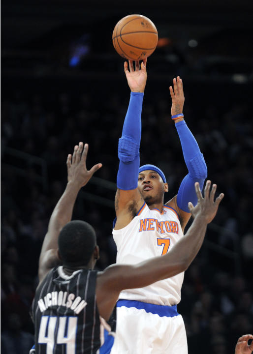 Knicks beat Magic by 38, end home skid at 7