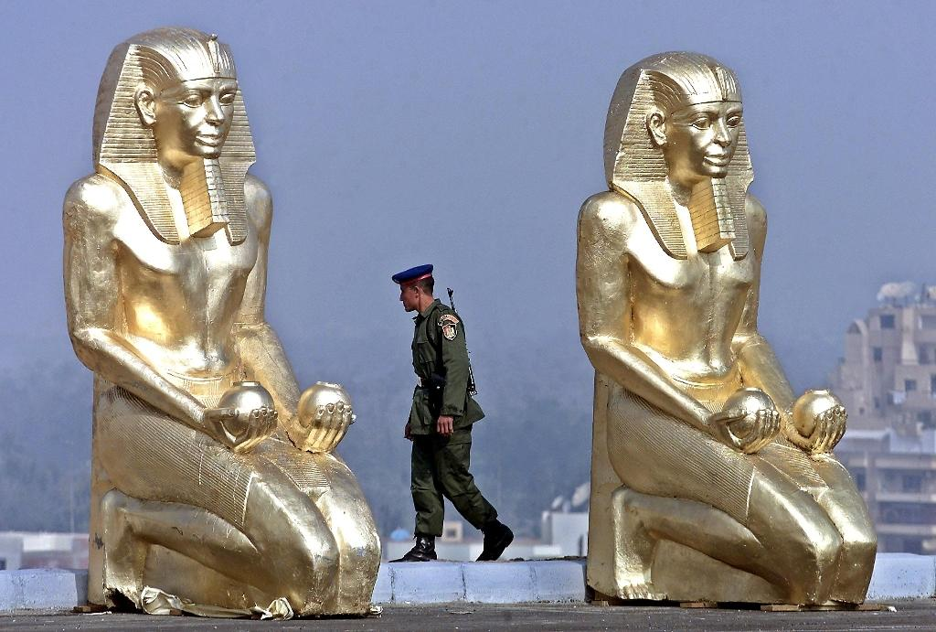 Two Egypt museum staff arrested after artefact thefts