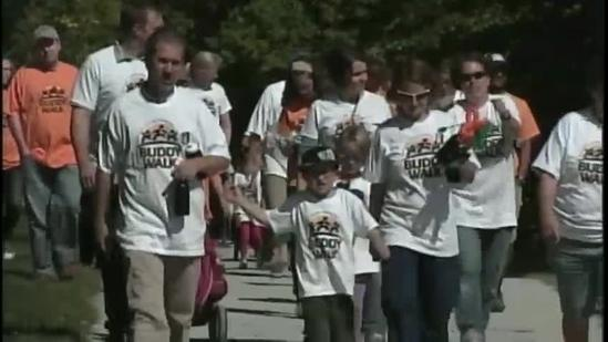 Buddy Walks raise awareness for people with down syndrome