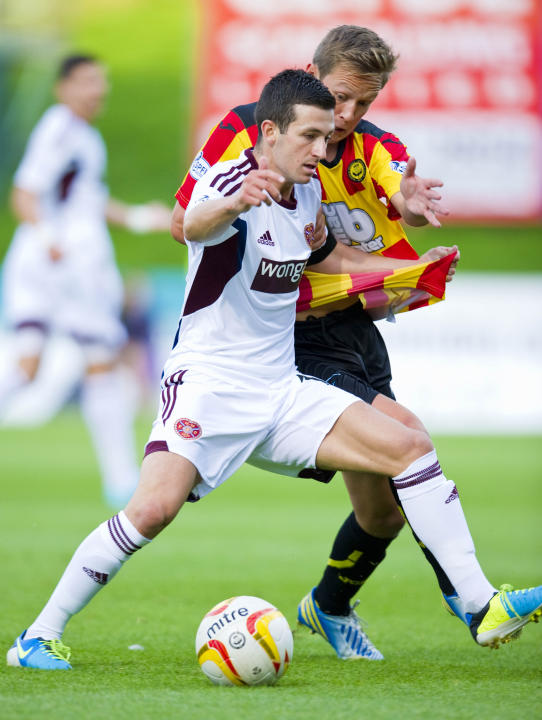 Soccer - Scottish Premiership - Partick Thistle v Heart of Midlothian - Firhill Stadium