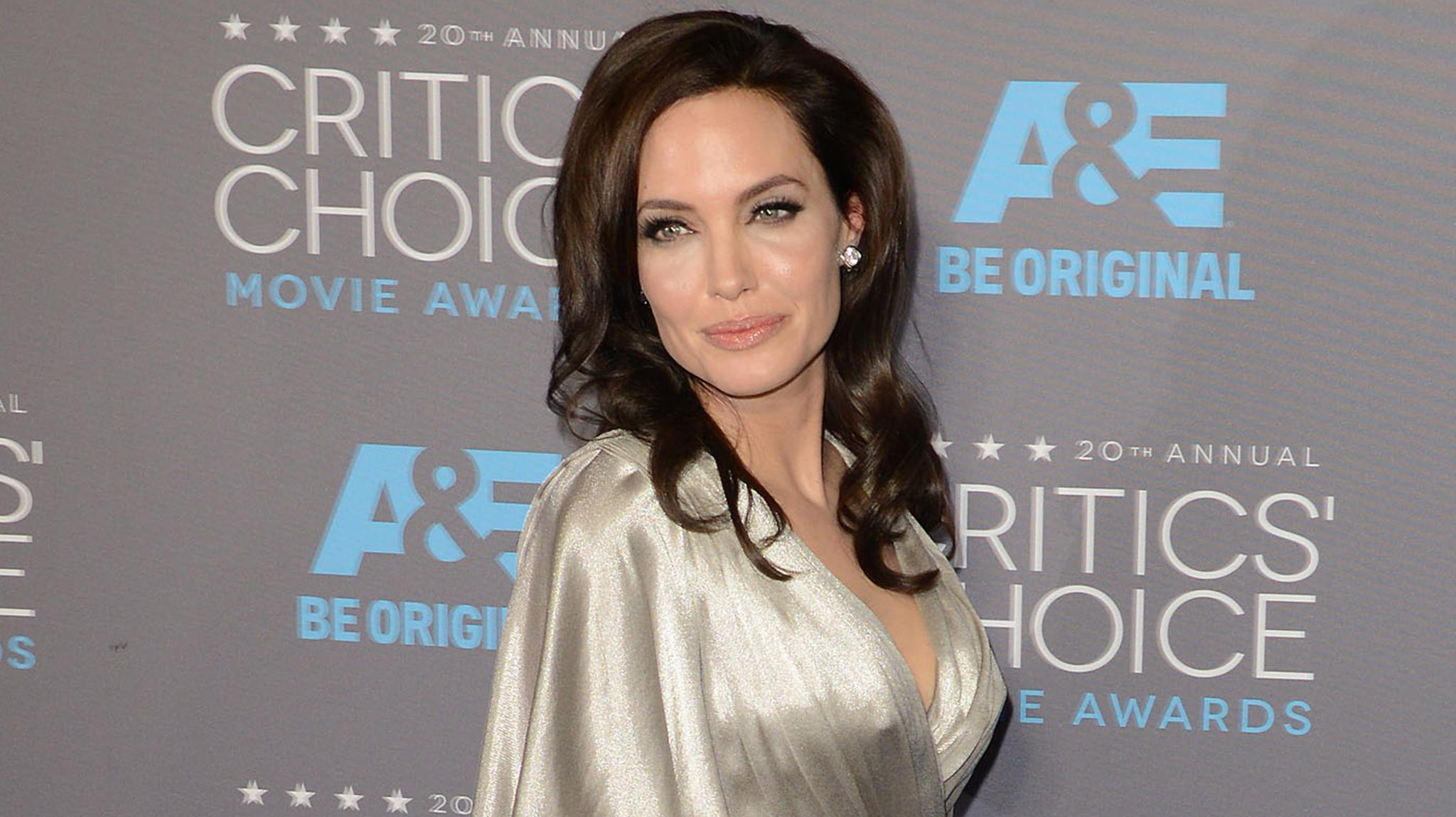 Angelina Jolie Debuts Three New Back Tattoos -- See the Pics!