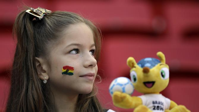 World Cup mascot fails to cash in with FIFA