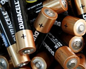 Used Duracell batteries are seen in an office in K…