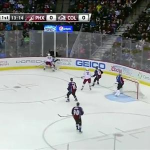 Phoenix Coyotes at Colorado Avalanche - 02/28/2014