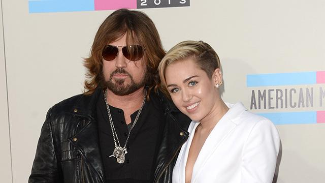 Billy Ray Cyrus Shares a Sweet Throwback Pic for Miley's 23rd Birthday