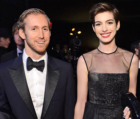 Anne Hathaway Is Unemployed, Planning to Relax With Husband Adam Shulman