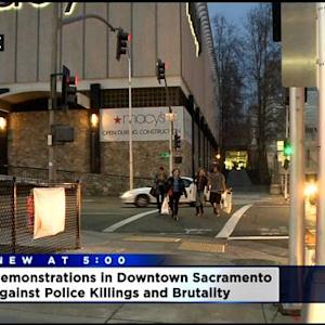 Protesters Expected To Gather Again In Sacramento To Demonstrate Against Police Brutality