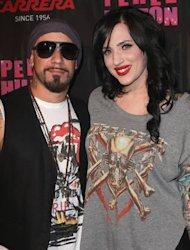 A.J. McLean's pregnant wife suffers labour scare