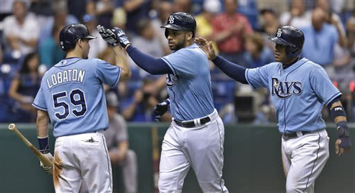 Alex Cobb leads Rays over Yankees and Sabathia 8-3