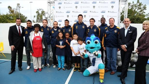 Galaxy, MLS W.O.R.K.S. partner to serve Carson youth