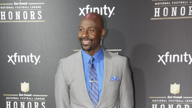Former NFL player Jerry Rice arrives at the 2nd Annual NFL Honors on Saturday, Feb. 2, 2013 in New Orleans. (Photo by AJ Mast/Invision/AP)