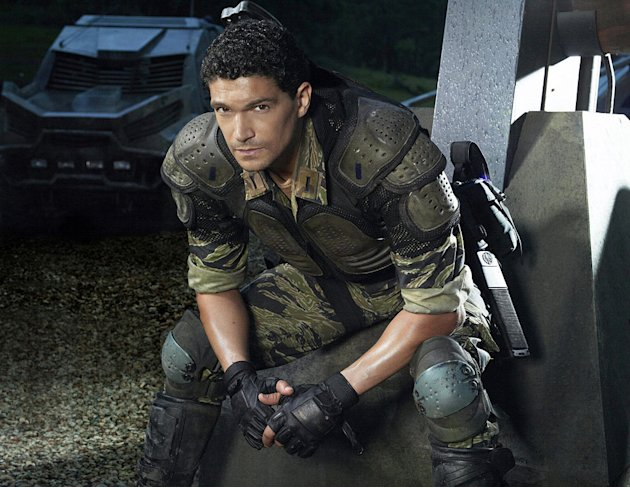 "Mido Hamada stars as Guzman in ""Terra Nova."""
