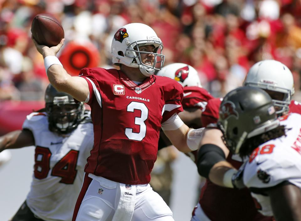 Palmer, Cardinals struggle with Arians' offense