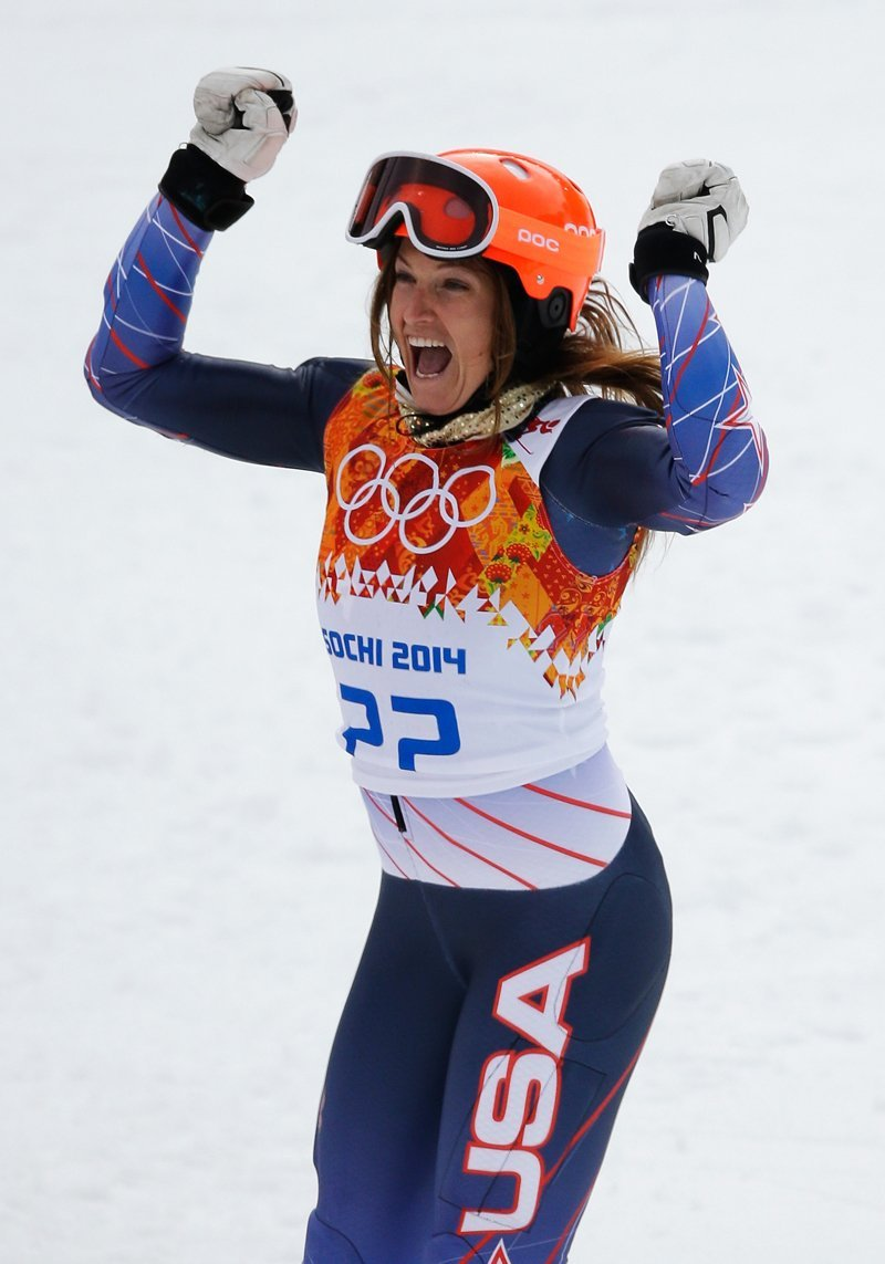 julia mancuso bronze medal winner