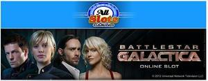 Battlestar Galactica(TM) Online Slot Game Launches at All Slots Casino