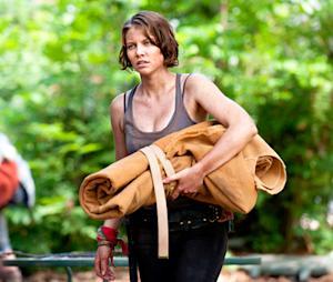 "The Walking Dead's Lauren Cohan on Beth's ""Creepy"" Kidnapping, Possible Terminus Cannibals and More"