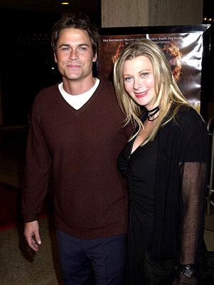 Premiere: Rob Lowe and wife Cheryl at the Century City premiere of The Affair of the Necklace - 11/20/2001