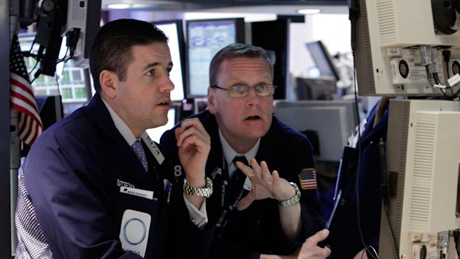 Stocks rise on hiring gains, Greek debt progress