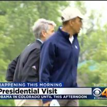 Obama Set For Speech At Cheesman Park, To Discuss Economy