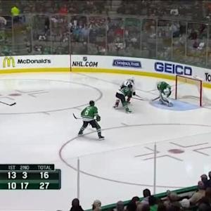 Jhonas Enroth Save on Ryan Kesler (00:08/3rd)