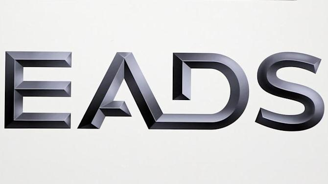 Logo of EADS is seen at the European aerospace and defence group EADS headquarters in Les Mureaux near Paris