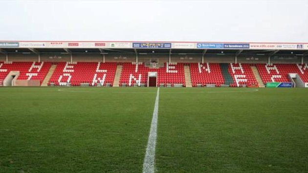 FOOTBALL Cheltenham Town Whaddon Road