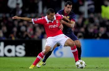 Barcelona 0-0 Benfica: Point not enough for Portuguese to progress