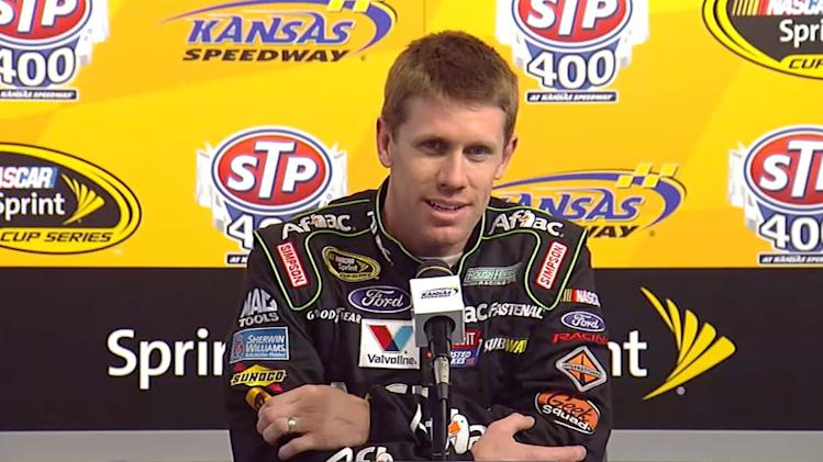 Press Pass: Carl Edwards