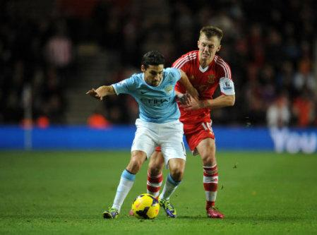 Soccer - Barclays Premier League - Southampton v Manchester City - St Mary's Stadium