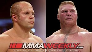 The Fight That Almost Was: Brock Lesnar vs. Fedor Emelianenko at Cowboys Stadium in 2012