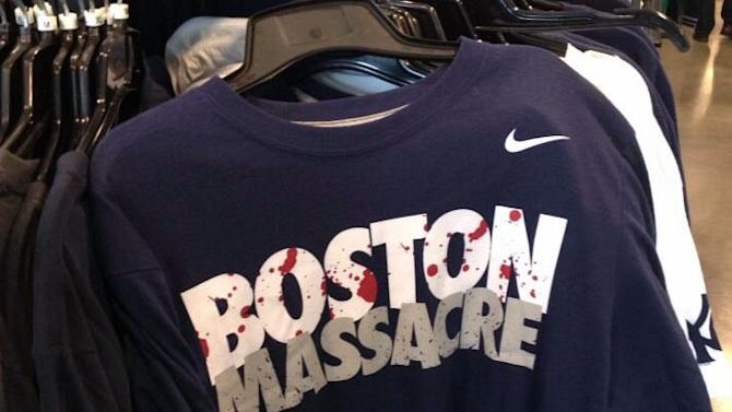 Nike yanks T-shirts in aftermath of bombing