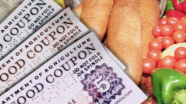 Report: Food stamps soar despite unemployment decline