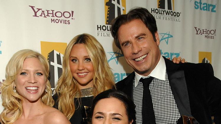 Hollywood Film Festival Awards 2007 Brittany Snow Nikki Blonsky John Travolta