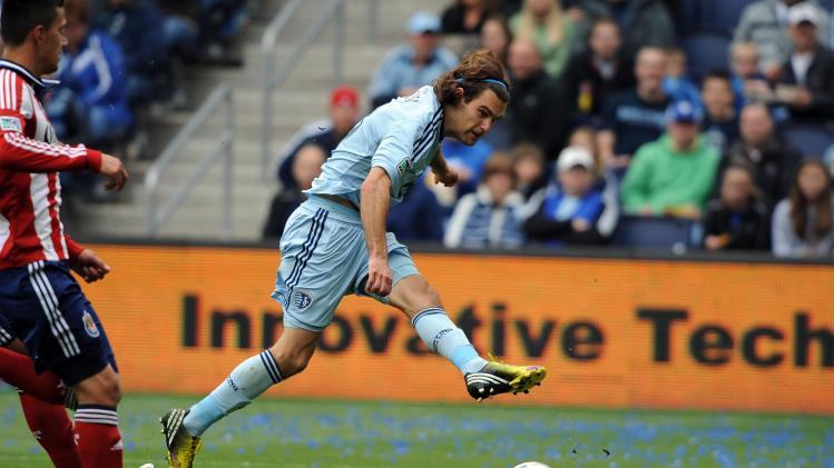 MLS: Chivas USA at Sporting KC