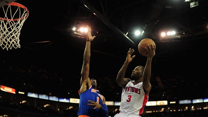 New York Knicks v Detroit Pistons