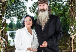 Miss Kay and Phil Robertson | Photo Credits: Karolina Wojtasik/A&E