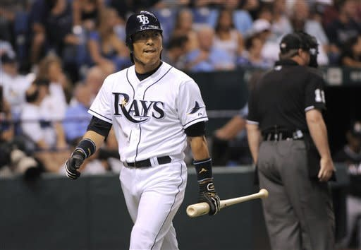 Cousins' triple lifts Marlins over Rays