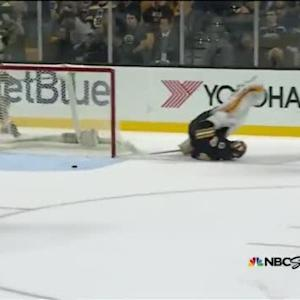 Penguins at Bruins / Game Highlights