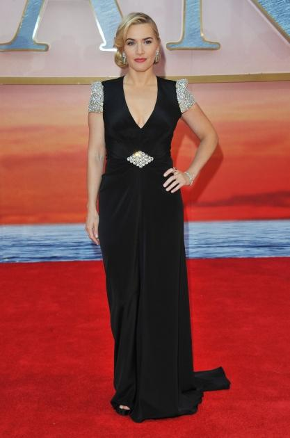 Kate Winslet attends the 'Titanic 3D' world premiere at the Royal Albert Hall in London on March 27, 2012  -- Getty Images