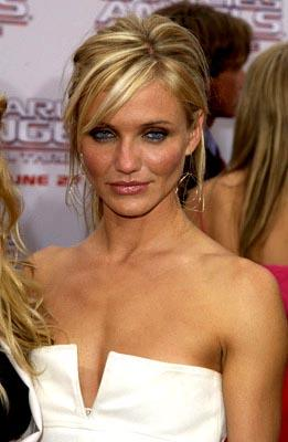 Cameron Diaz at the LA premiere of Columbia's Charlie's Angels: Full Throttle