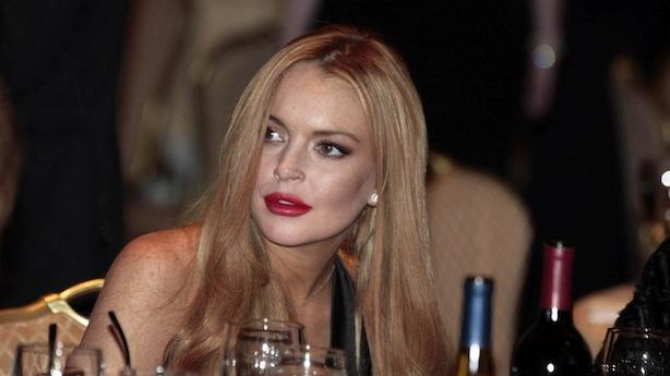 Lindsay Lohan Is Back to Partying