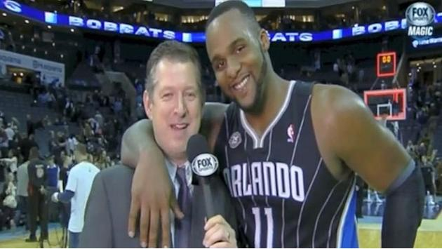 Glen Big Baby Davis' funny postgame interview