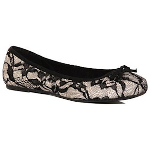 Black Lace Square Toe Pumps Dorothy Perkins: What To Wear: School Run