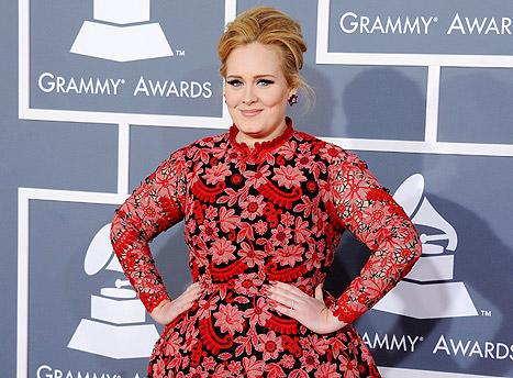 "Adele Talks Motherhood at Grammys 2013: ""I'm Quite Tired!"""