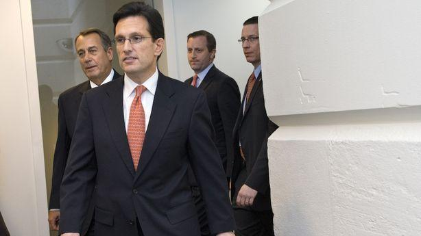 Eric Cantor Really Hates the Senate's Cliff Deal