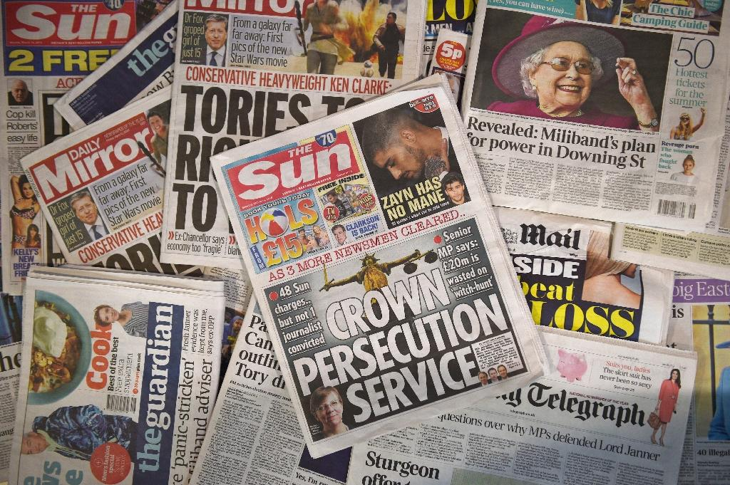 Collapsed bribery cases boost UK's vilified press