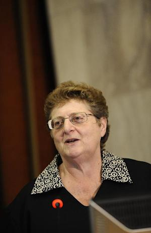 Governor of the South African Reserve Bank Gill Marcus,…